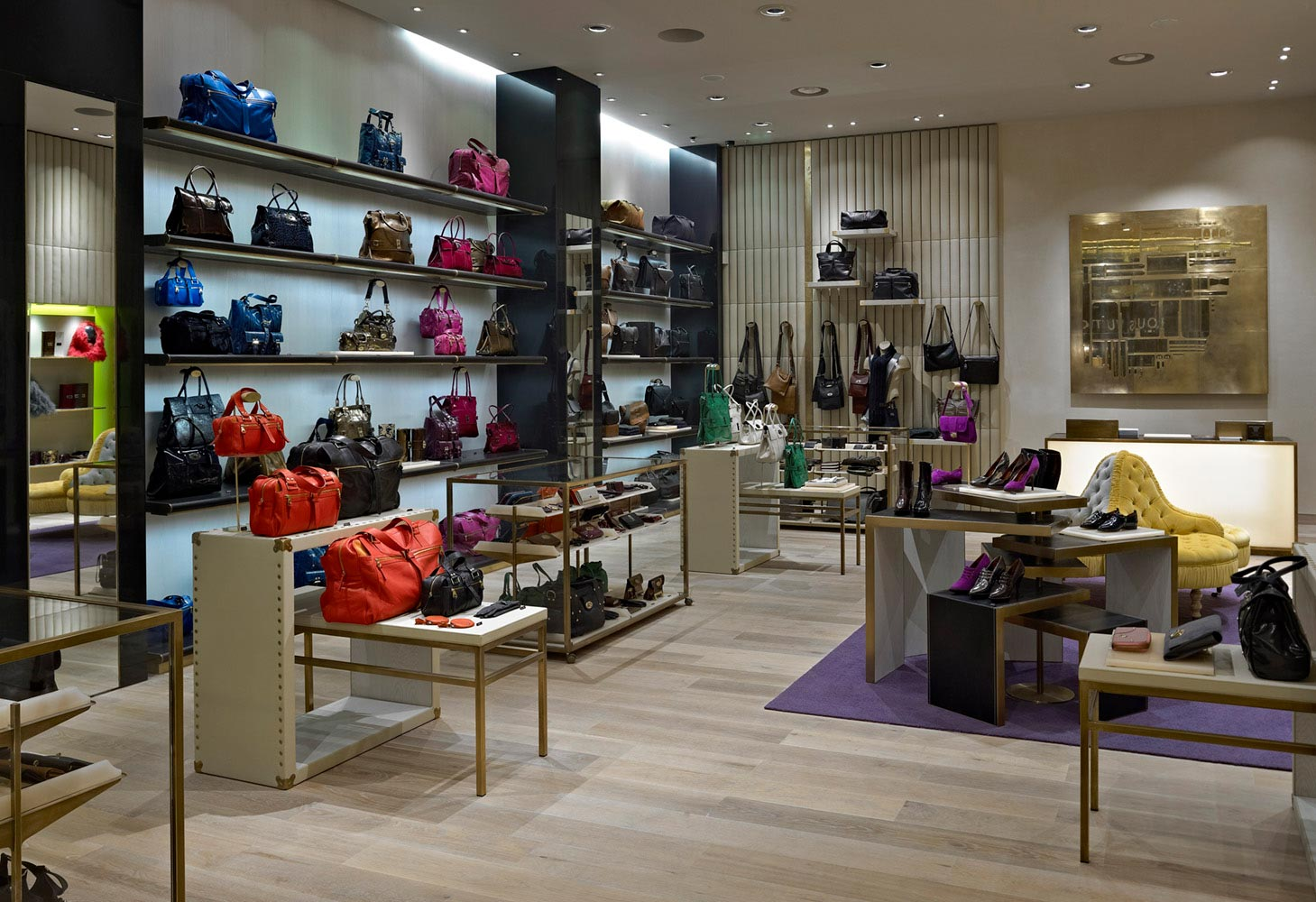 Mulberry-Four IV Design(New store in Westfield shopping centre)
